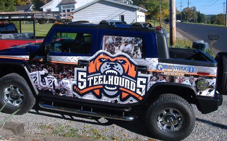 Steelhounds Hummer