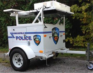 Brookfield Police Speed Trailer
