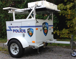 Brookfield Police Speed Trailer