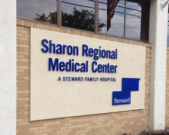 Sharon Regional Medical Center North Entrance