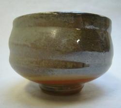 Teabowl with shino and ash glaze_5