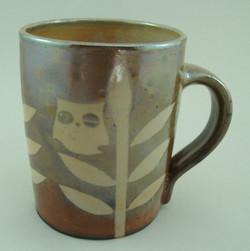 Shino resist mug.