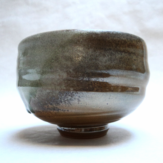 Teabowl, local clay and ash glaze_2