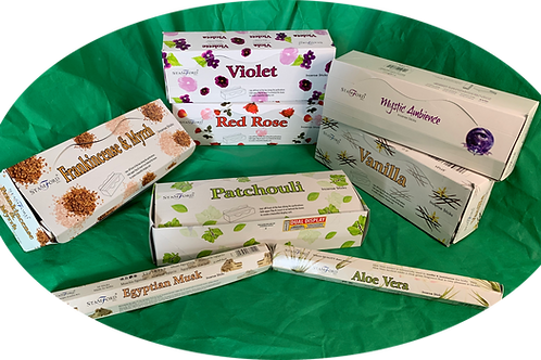 Any 6 Incense Sticks for £5.00