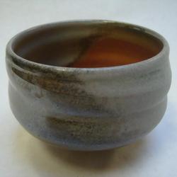 Teabowl with shino and ash glaze_6