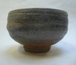 Teabowl with shino and ash glaze_7