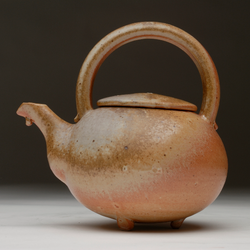 Small shino teapot.