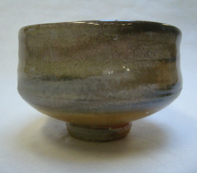 Teabowl with shino and ash glaze_3
