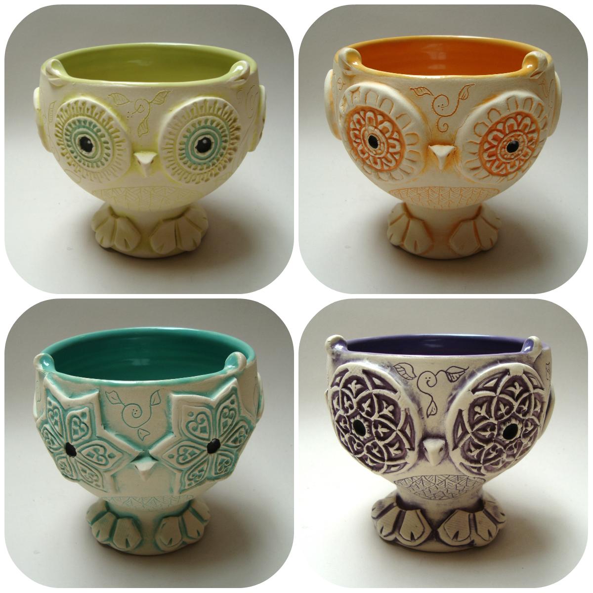 tiki owls collage 2