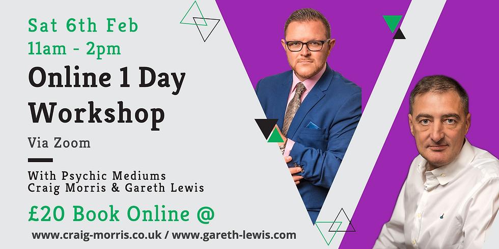 Online 1 Day Workshop with Gareth & Craig