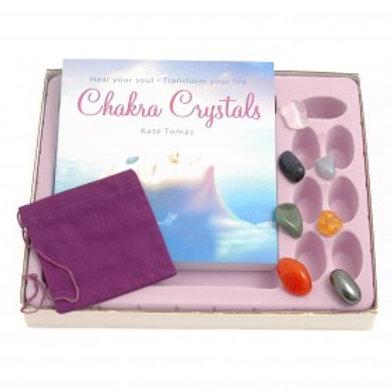 Chakra Crystals (Book & Crystals set)