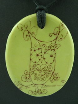 Decal pendant