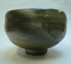 Teabowl, local clay and ash glaze_1