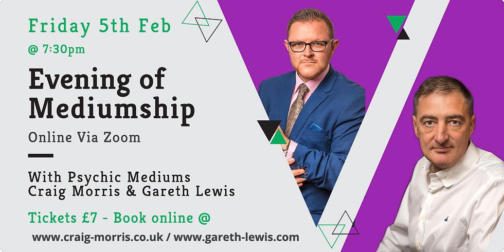 Online Demonstration of Mediumship with Gareth & Craig