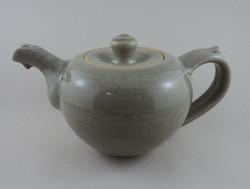 Celadon teapot.