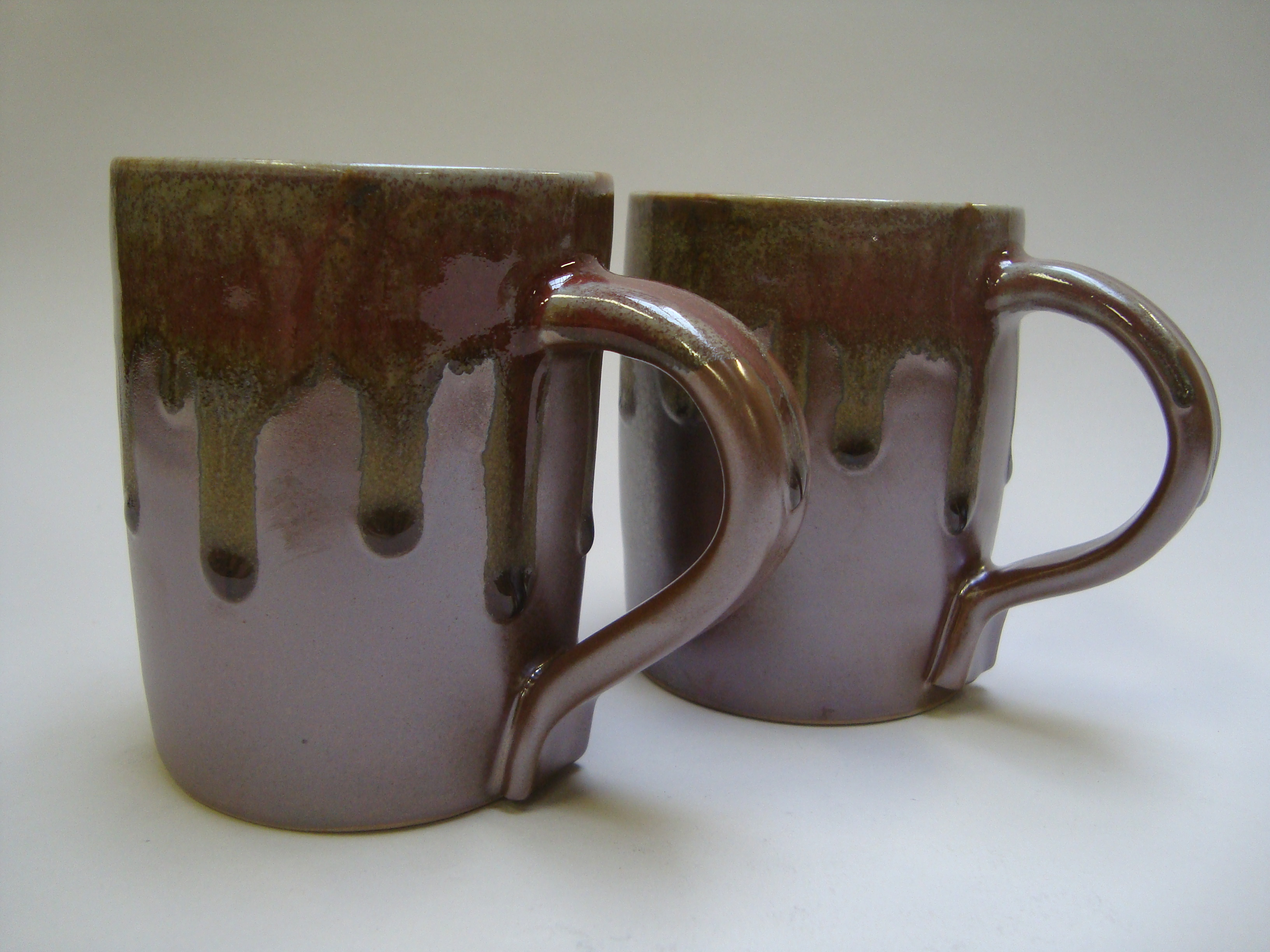 Clay and ash mugs. 2013