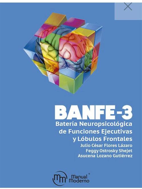BANFE-3 Batería Neuropsicológica de Funciones Ejecutivas