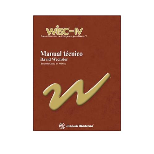 WISC-IV - Escala Wechsler de inteligencia para Niños - IV