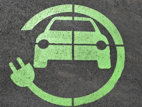 Σήμα δωρεάν στάθμευσης ηλεκτροκίνητου οχήματος