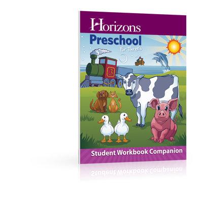 Horizons Preschool for Three's Student Workbook Companion
