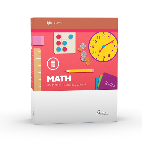 Lifepac Math Kindergarten Complete Set
