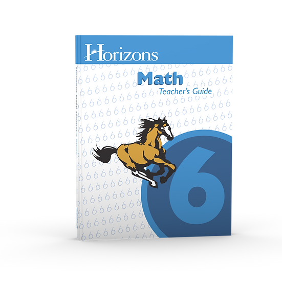 Horizon's Math 6th Grade Teacher's Guide