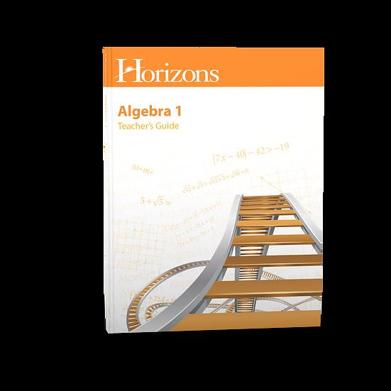 Algebra I Teacher's Guide