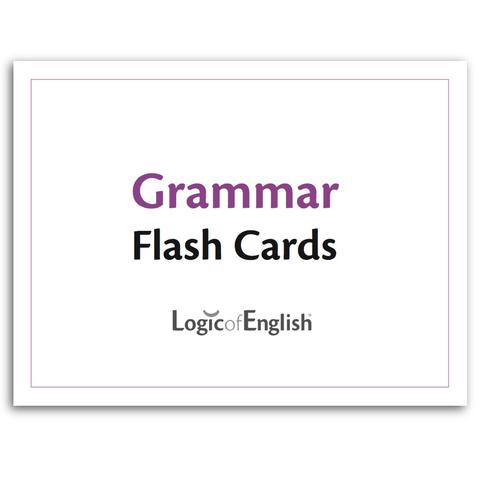 LOE Grammar Flash Cards