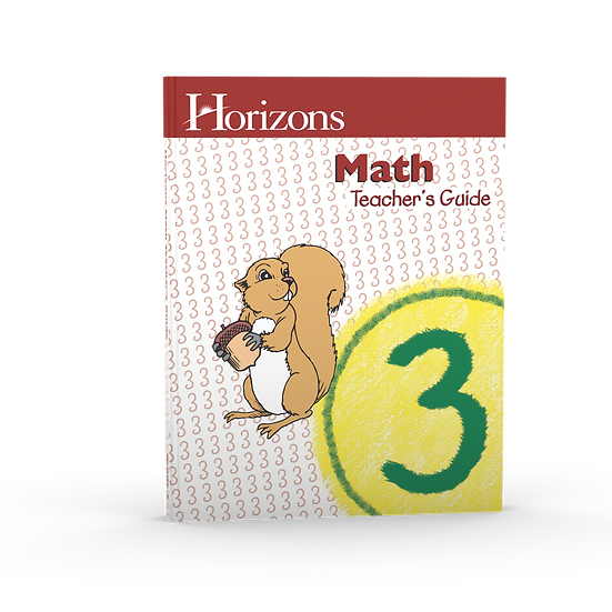 Horizon Math 3rd Grade Teacher's Guide