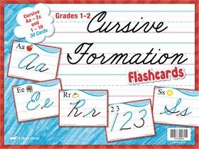 Cursive FOrmation Flashcards