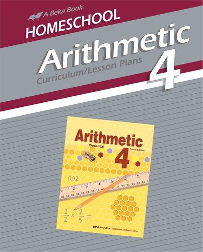 Arithmetic 4 Curriculum/Lesson Plans