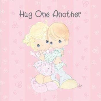 Precious Moments Hug One Another