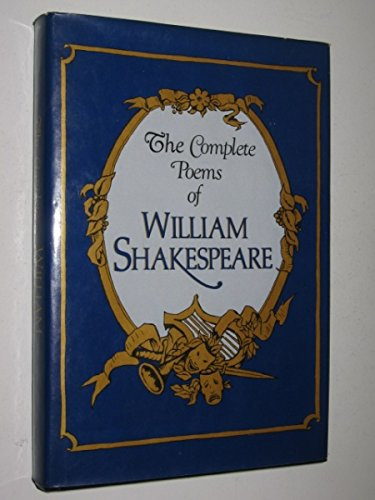 Complete Poems Of William Shakespeare