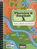 Phonics and English 1, Teacher's Edition (2 Parts)