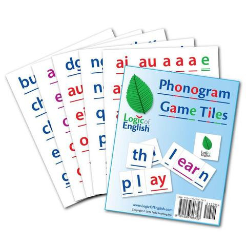 LOE Phonogram Game Tiles