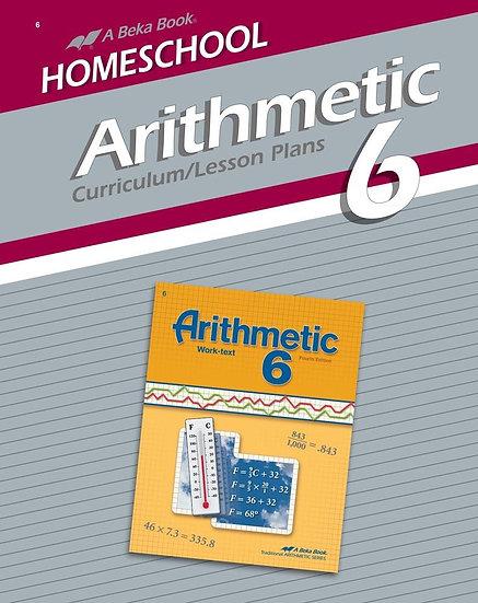 Arithmetic 6 Curriculum/Lesson Plans