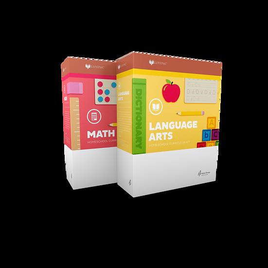 Lifepac 2 Subject Complete Set Kindergarten