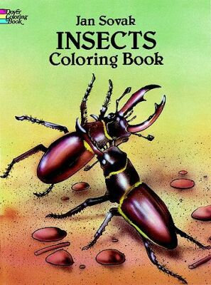 Insects Coloring Book (Dover Nature Coloring Book)