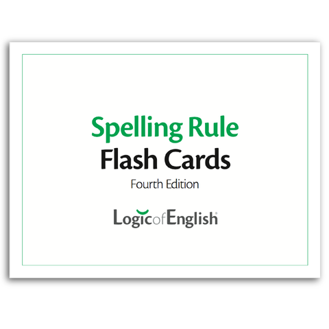 LOE Basic Spelling Rule Flash Cards