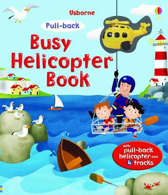 Busy Helicopter Book (Pull-back)