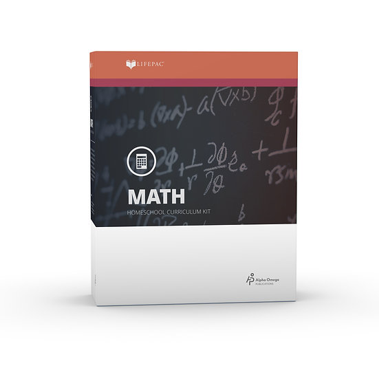Lifepac Math Seventh Grade Complete Set