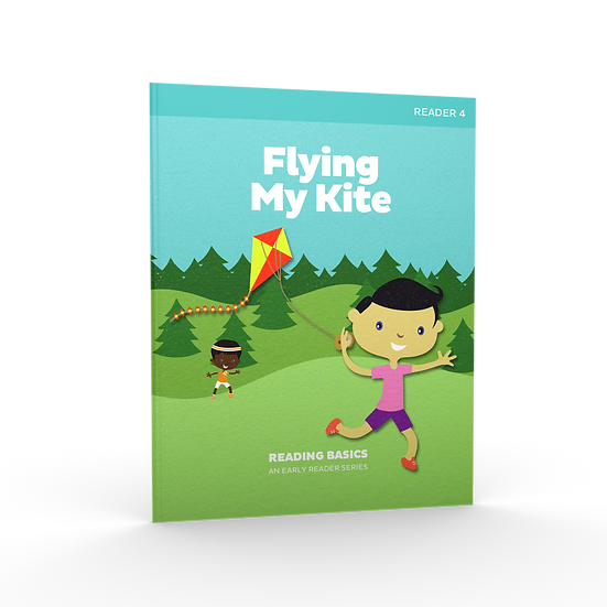 Lifepac Language Arts Grade 1 Reading Basics Book 4: Flying My kite