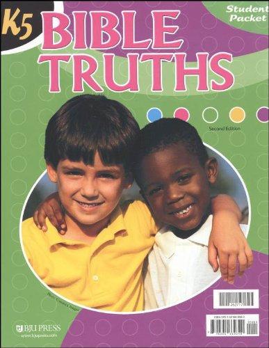 Bible Truths K5 Student Worktext 2nd Edition