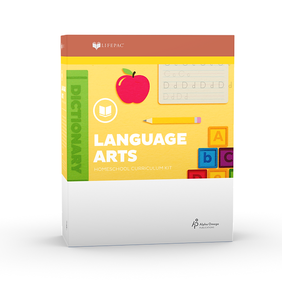 Lifepac Language Arts 1st Grade Complete Set