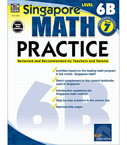 Singapore Math 6B Practice