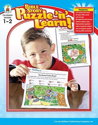 Bible Story Puzzle & Learn!, Grades 1 - 2