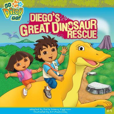 Diego's Great Dinosaur Rescue (Go Diego Go (8x8))