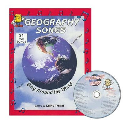 Geography Songs: Sing Around the World Book and CD