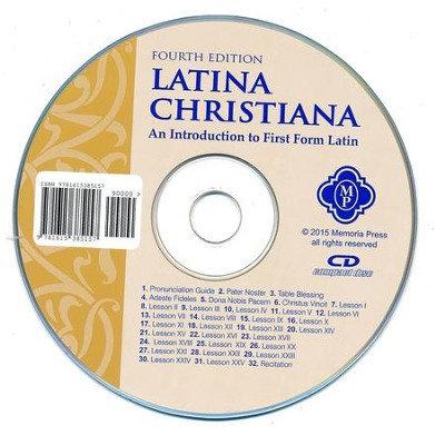 Latina Christiana I Pronunciation CD, Memoria Press