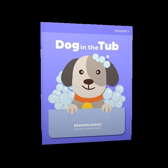 Lifepac Language Arts Grade 1 Reading Basics Book 1: Dog in the Tub